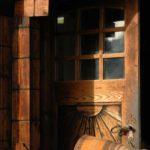 Karpaten - Rumänien - schöne Holztür