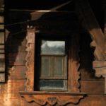 Karpaten - Rumänien - schönes Holzfenster