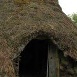 Norwegen -Eingang bronzezeitliches Dorf in Tanum