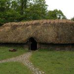 Norwegen -Bronzezeitliches Haus in Tanum