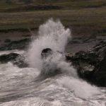 Island - Gischt an der Südküste