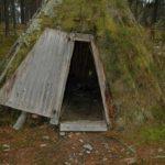 Norwegen -Sami Kota-Eingang