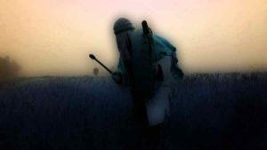 Basisseminar Schamanismus - Schamane trommelt in der Steppe