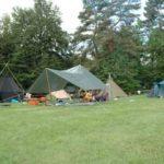 Vereinsaktivitaeten - Sommerlager_Zelte