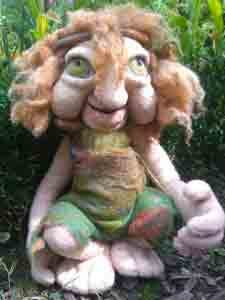 Puppe aus Filz - Seelennaturwesen