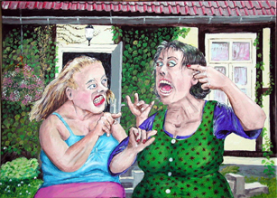 Besseres Leben - Zwei Frauen im Streit