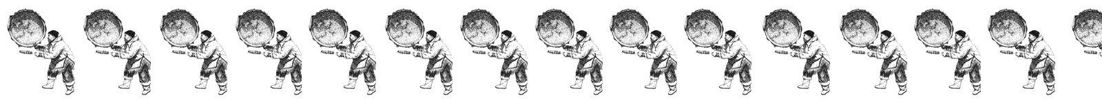 Schamanismus Seminare - Inuit mit Trommel