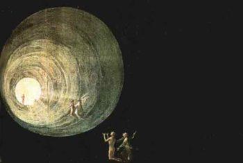 Initiation, Leben und Tod - Gemälde - Flug durch den Lichttunnel