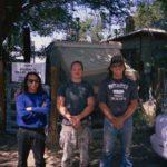USA - Derrewl und Two Feathers, zwei freunde von den Navaho und Siox