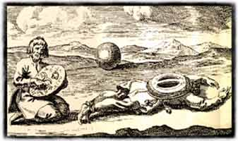 Basisseminar Schamanismus - Schamane liegt auf dem Boden, ein anderer trommelt