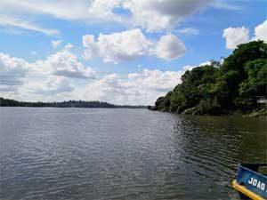 Bogenschießen in Brasilien mit Klemens Schmelter - Rio Xingu