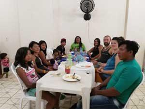 Bogenschießen in Brasilien mit Klemens Schmelter - Timei und Carla