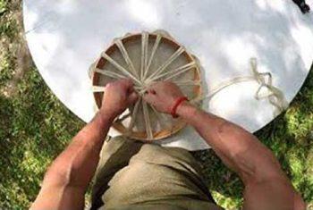 Youtube-Bild Trommelbau zweieinhalb - Olaf baut eine Trommel