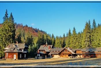 Das Jagdschloss des Königs, unser Seminarhaus in den Karpaten
