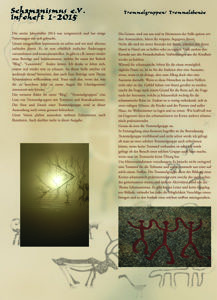 Aussendung 1-2015, Schamanismus e.V.
