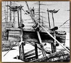 Initiation, Leben und Tod - Schamanengrab in Sibierien